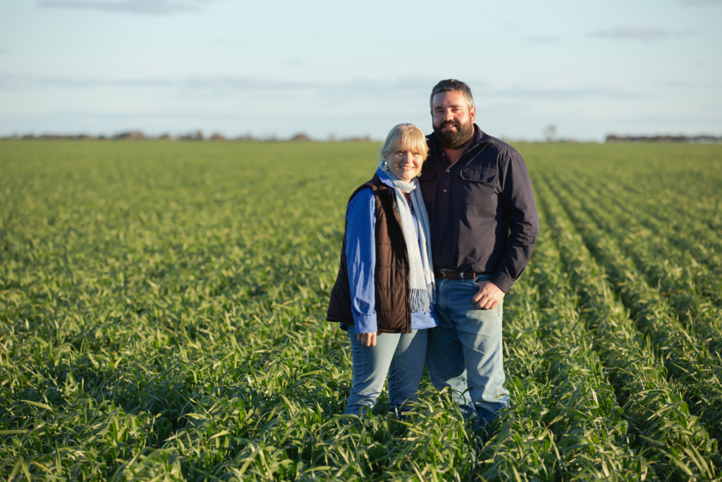 Family at Heart of Farm Life on Belmore