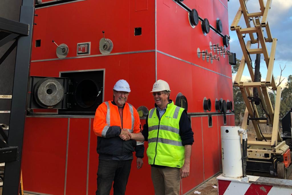 Full Steam Ahead for MSM Bioenergy