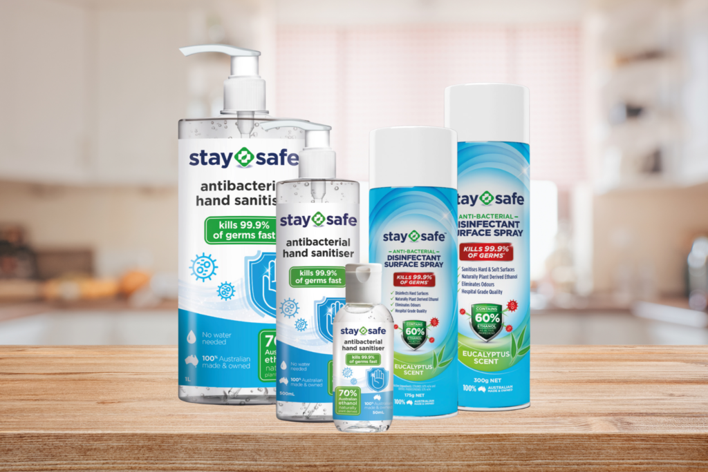 Stay Safe in the Pandemic with Secure Supply of Sanitiser